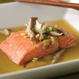 Asian-style-Steamed-Salmon