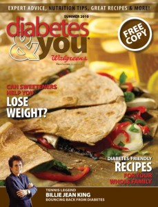 Diabetes & You, Summer 2010