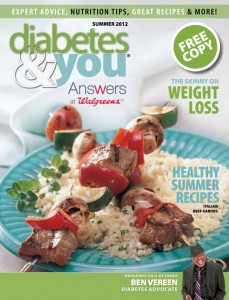 Diabetes & you, Summer 2012
