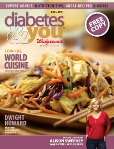 Diabetes & You, Fall 2011