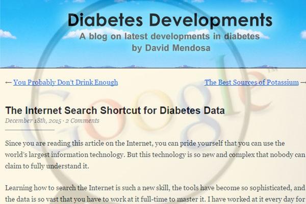 internet-shortcut-for-diabetes-data